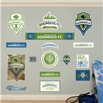 Seattle Sounders Logo Fathead Wall Decal