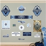 Vancouver Whitecaps Logo Fathead Wall Decal