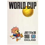 1966 FIFA World Cup Poster
