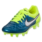 Nike Women's Tiempo Legend V FG (Blue Lagoon/White)