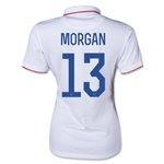 USA Women's National Team 2014 Alex Morgan Women's Home Soccer Jersey