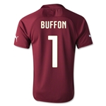 Italy 2014 Gianluigi Buffon Goalkeeper Jersey