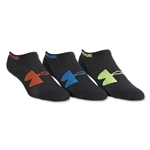 Under Armour Boys SoLo V No-Show Sock (Black)