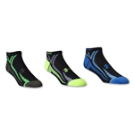 Under Armour Phantom III No Show Sock-3 Pack (Black)