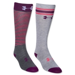 Under Armour Women's Retrostrip OTC Sock (Purple)