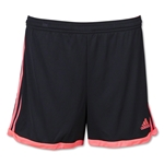 adidas Women's Tastigo 15 Knit Short (Blk/Red)