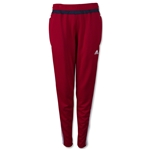 adidas Women's USA Tiro 15 Training Pant (Red/Navy)