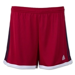 adidas Women's USA Tastigo 15 Knit Short (Red/Navy)