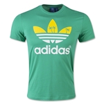 adidas Originals Palm Tree Trefoil Graphic T-Shirt (Green)