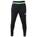 adidas Tiro 15 Training Pant (Blk/Green)