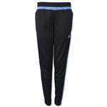 adidas Women's Tiro 15 Training Pant (Black/Sky)