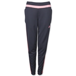 adidas Women's Tiro 15 Training Pant (Gray/Red)