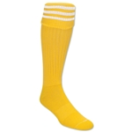 3 Stripe Padded Socks (Yellow/White)