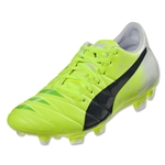 Puma evoAccuracy 1 FG Junior (Fluro Yellow)