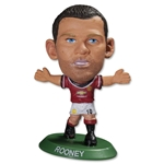 Manchester United Rooney Mini Figurine