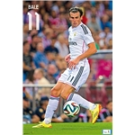 Real Madrid 14/15 Bale Poster