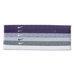 Nike Dot Print Headband Assorted 6-Pack (Purple)