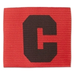 European Style Captain's Armbands (Red/Blk)
