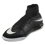 Nike Junior Hypervenom Proximo Street IC (Black/Wolf Grey)