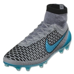 Nike Magista Obra FG (Wolf Gray/Turquoise Blue)