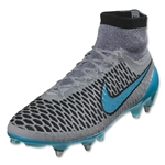 Nike Magista Obra SG Pro (Wolf Gray/Turquoise Blue)