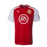 FC Santa Claus 2015 Youth Home Soccer Jersey