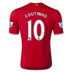 Liverpool 15/16 COUTINHO Home Soccer Jersey