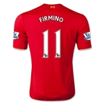 Liverpool 15/16 FIRMINO Home Soccer Jersey