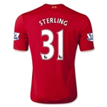 Liverpool 15/16 STERLING Home Soccer Jersey