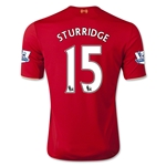 Liverpool 15/16 STURRIDGE Home Soccer Jersey