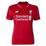 Liverpool 15/16 Women's Home Soccer Jersey