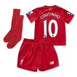 Liverpool 15/16 COUTINHO Home Little Boys Kit