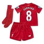 Liverpool 15/16 GERRARD Little Boys Home Kit