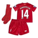 Liverpool 15/16 HENDERSON Home Little Boys Kit