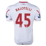 Liverpool 15/16 BALOTELLI Away Soccer Jersey
