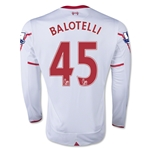 Liverpool 15/16 BALOTELLI LS Away Soccer Jersey