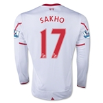 Liverpool 15/16 SAKHO LS Away Soccer Jersey