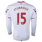 Liverpool 15/16 STURRIDGE LS Away Soccer Jersey