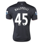 Liverpool 15/16 BALOTELLI Third Soccer Jersey