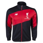 Liverpool Training Walk Out Jacket (Black/Red)