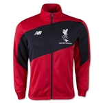 Liverpool Training Walk Out Jacket (Red/Black)