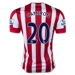 Stoke City 15/16 CAMERON Home Soccer Jersey