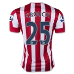 Stoke City 15/16 CROUCH Home Soccer Jersey