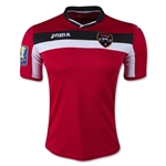 Trinidad and Tobago 2015 Home Soccer Jersey w/ Gold Cup Patch