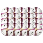 adidas Nativo Glider 20 Pack Ball (White/Flash Pink/Pink)