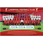 Liverpool 14/15 Team Poster