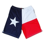 Texas Flag Lacrosse Shorts