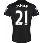 Everton 14/15 OSMAN Away Soccer Jersey