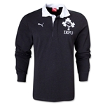 Ireland Supporter Rugby Jersey (Dark Gray)