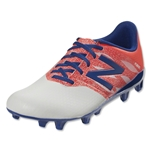 New Balance Furon Dispatch FG Junior (White/Flame/Ocean Blue)